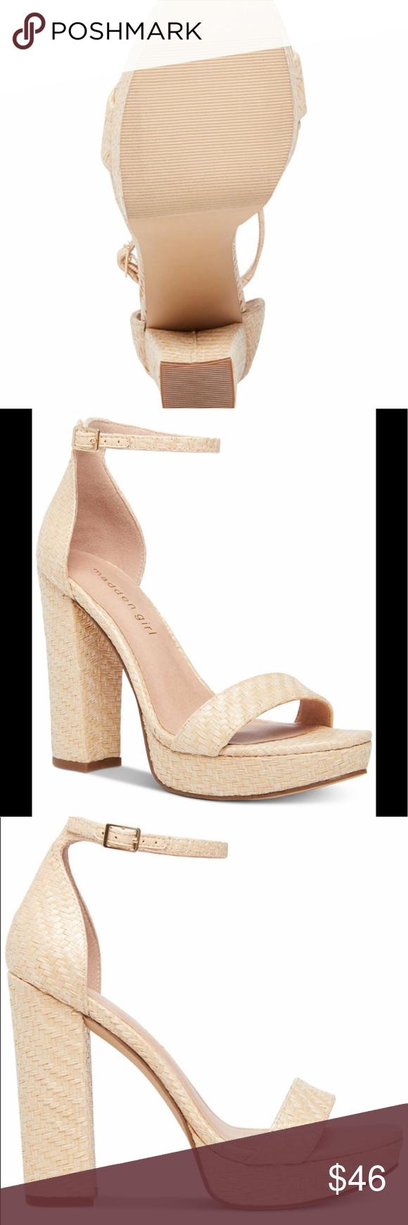 NWT Madden Girl Suzy Platform Sandals