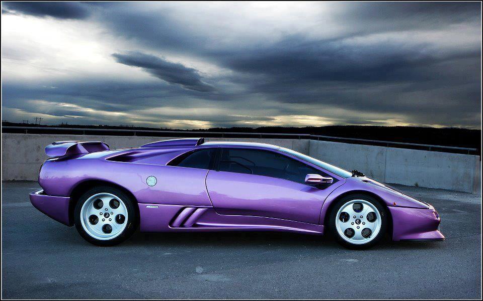 el diablo in purple genuin super cars lamborghini lamborghini rh pinterest com