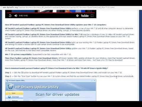 hewlett packard166f laptop driver free download