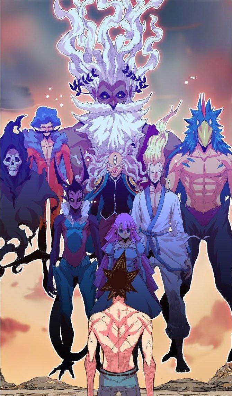 THE GOD OF HIGH SCHOOL CHAPTER 300 manga manhwa