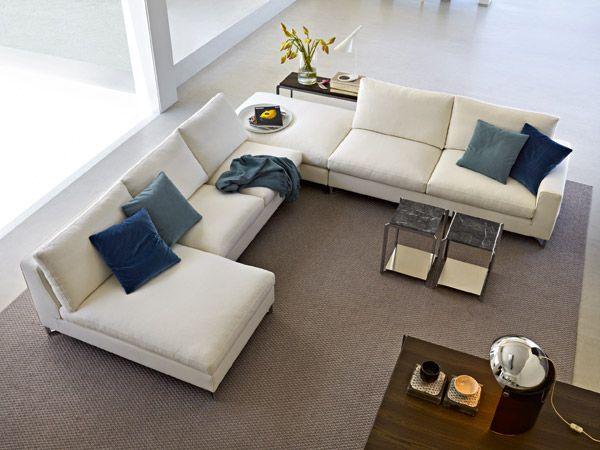 Molteni - divano angolare | Furniture | Pinterest | Living rooms ...