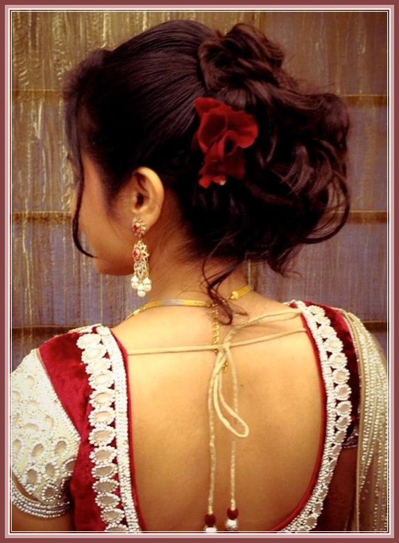 Indian Wedding Reception Hairstyles Images