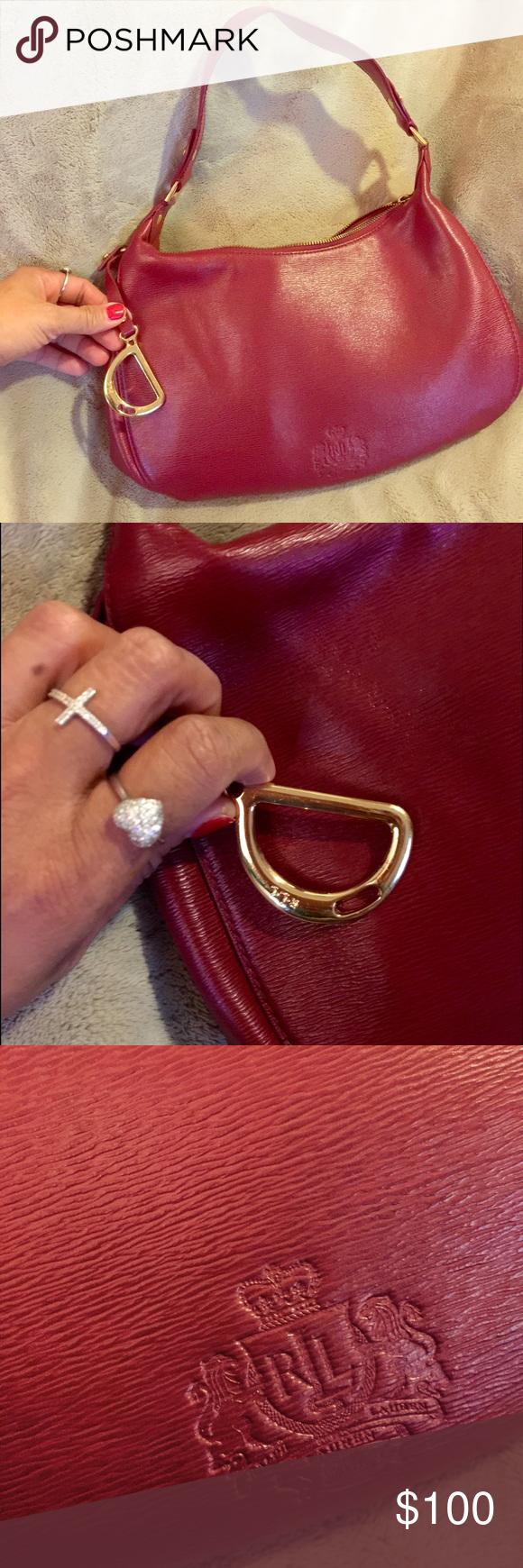5889c2c020 Excellent condition Vintage Ralph Lauren bag Used once