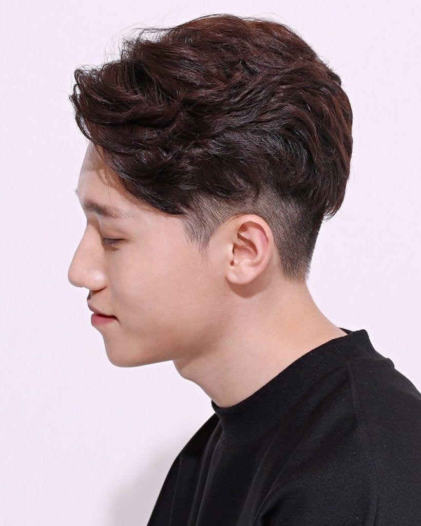 Undercuts Waves Hairstyles For Korean Man Hair Hair