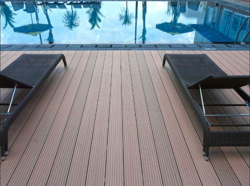 Wholesale Wood Plastic Swimming Pool Deck Wpc Flooring Alibaba Com Wood Pool Deck Building A Deck Pool Deck Floor