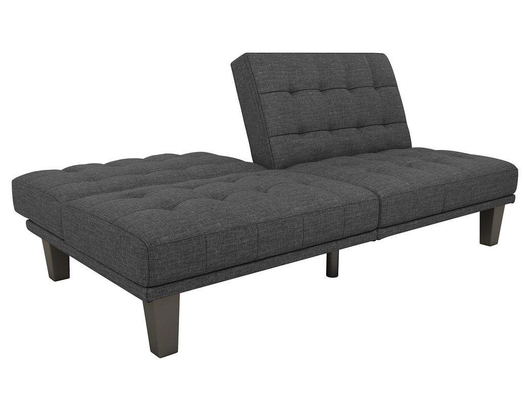 Haysi Futon Lounger Convertible Sofa in 2019 | Tiny house ...