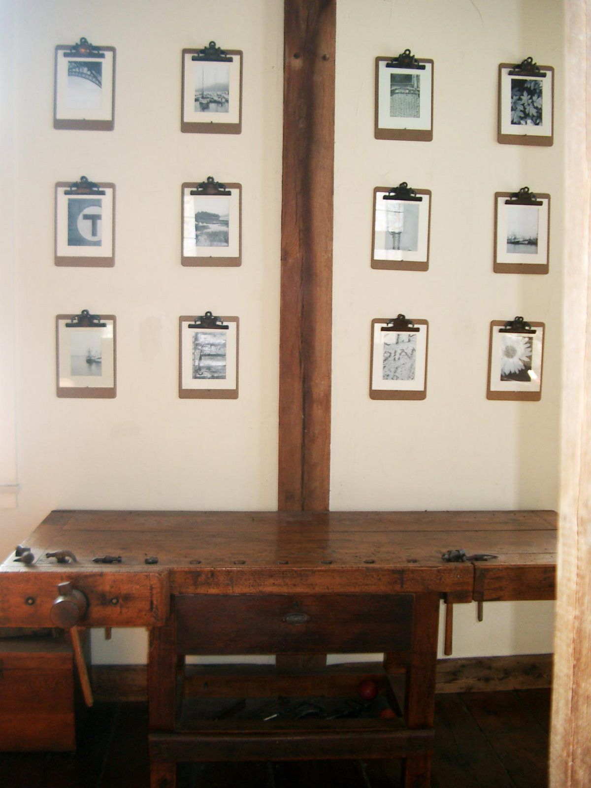 Do it yourself clipboard wall frames foyer pinterest do it yourself clipboard wall frames solutioingenieria Choice Image