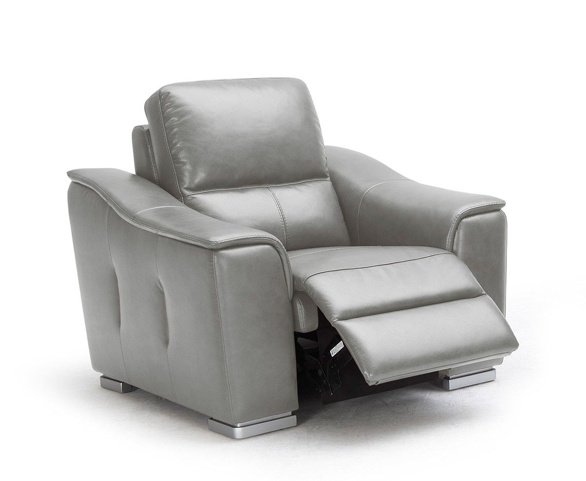 Grey Leather Recliner Chair Grey Leather Recliner
