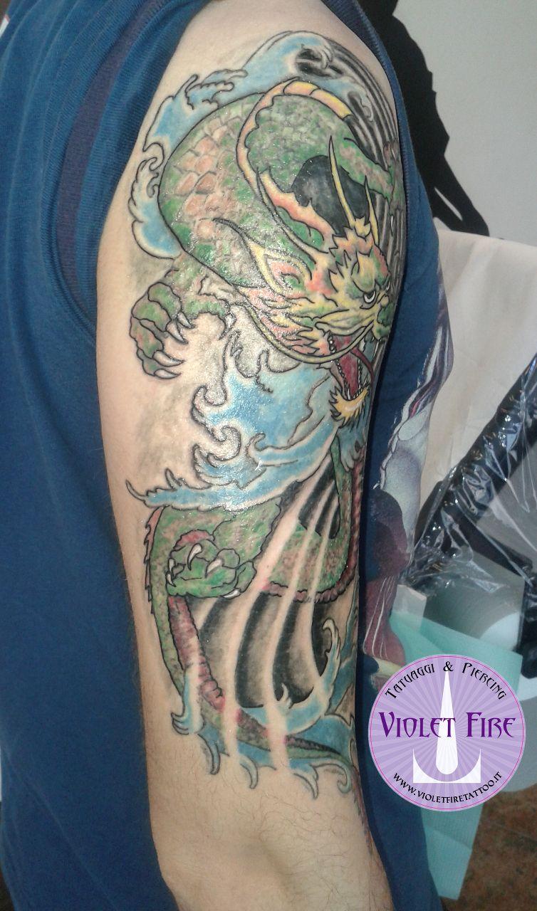 Tatuaggio Giapponese Tatuaggio Japan Tatuaggio Fantasy Tatuaggio