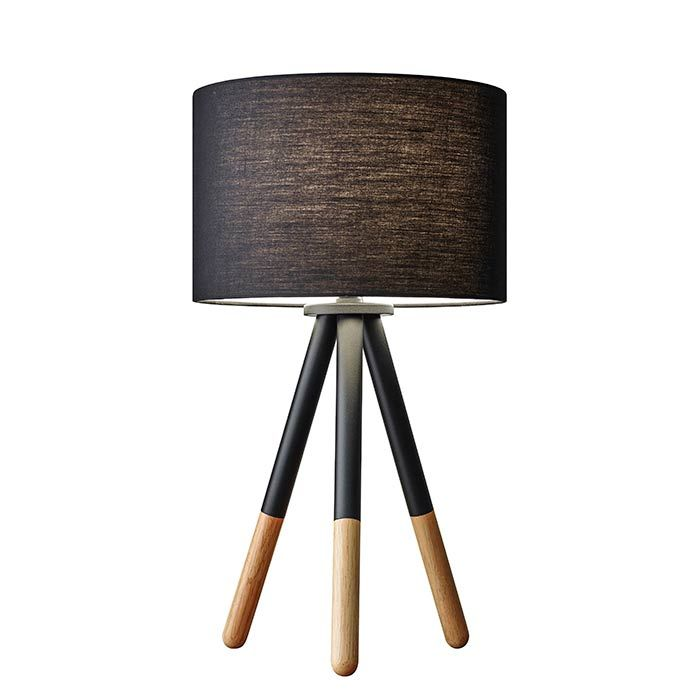 Designer Table Lamps Painted Wooden Metal And Natural Wood