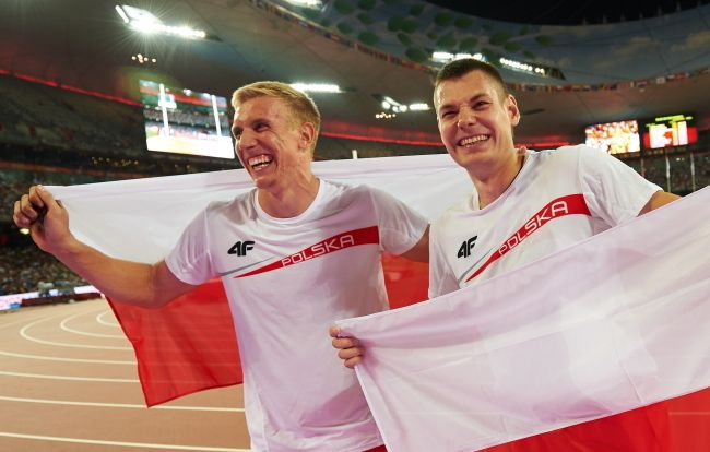 Double bronze in Beijing for Poland's pole-vaulters