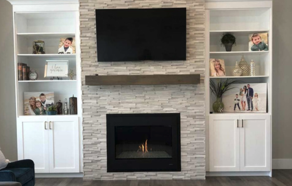 mounting a mantel what height is right tv fireplace fireplace rh pinterest com