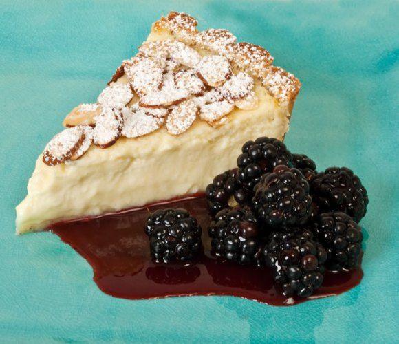 Photo of Torta della Nonna with blackberries Torta della Nonna for My Dar