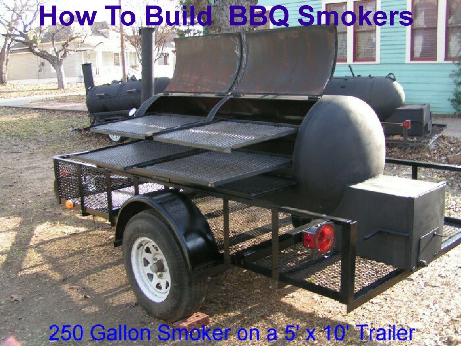 Details about How To Build Any Size BBQ Smoker, Plans CD /w