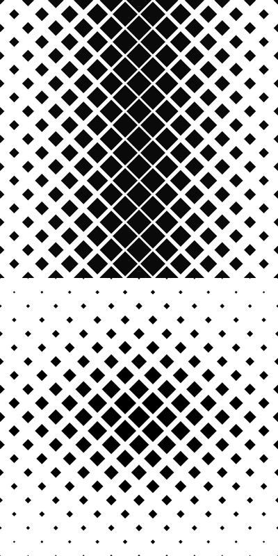 Black And White Square Pattern Background Collection 99 Vector