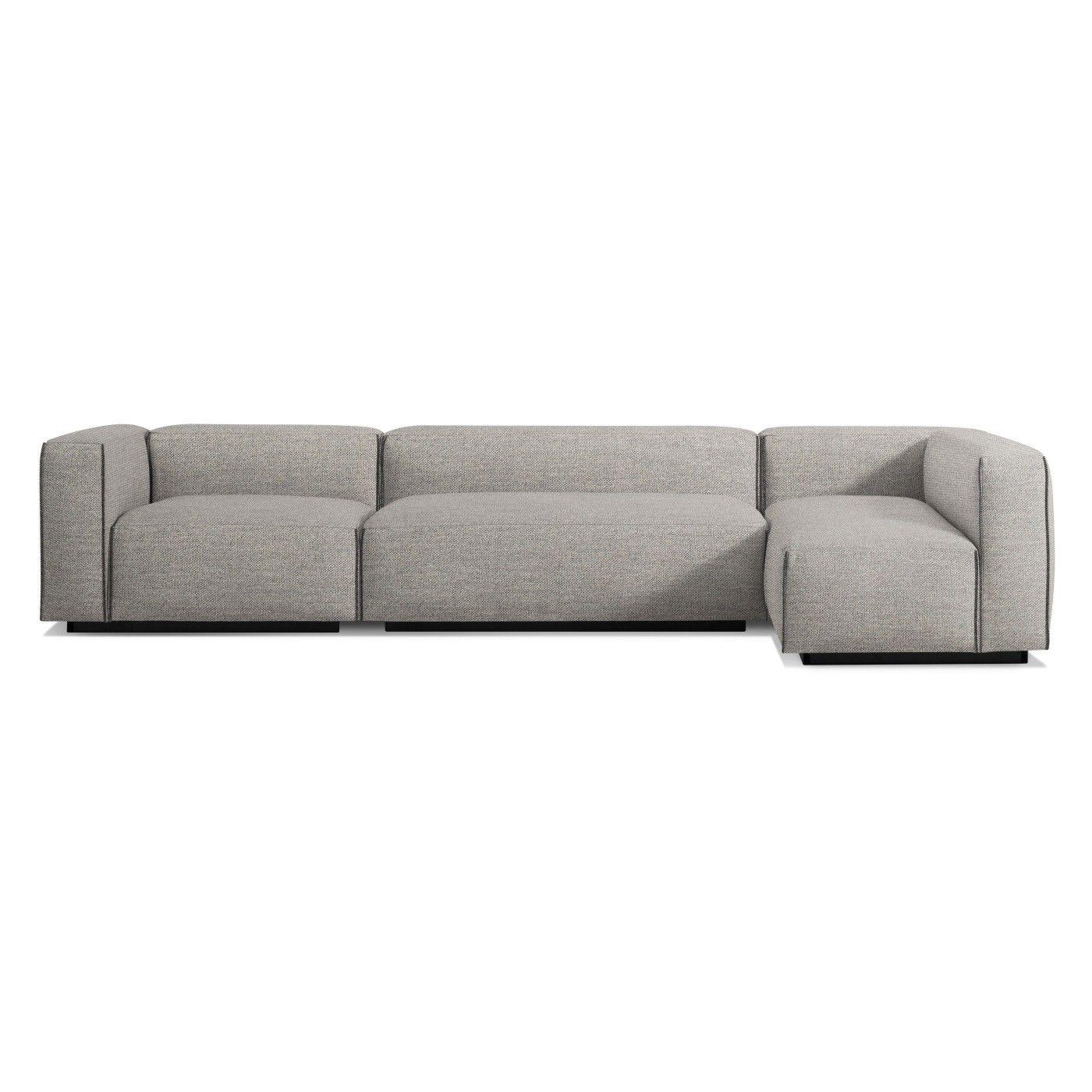 smaller scale sectional sofa blu dot cleon medium sectional rh pinterest com