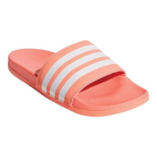 55ddbfbbd3f7b Women s adidas Adilette Cloudfoam PLus Logo Slide Sandal Sandals in ...
