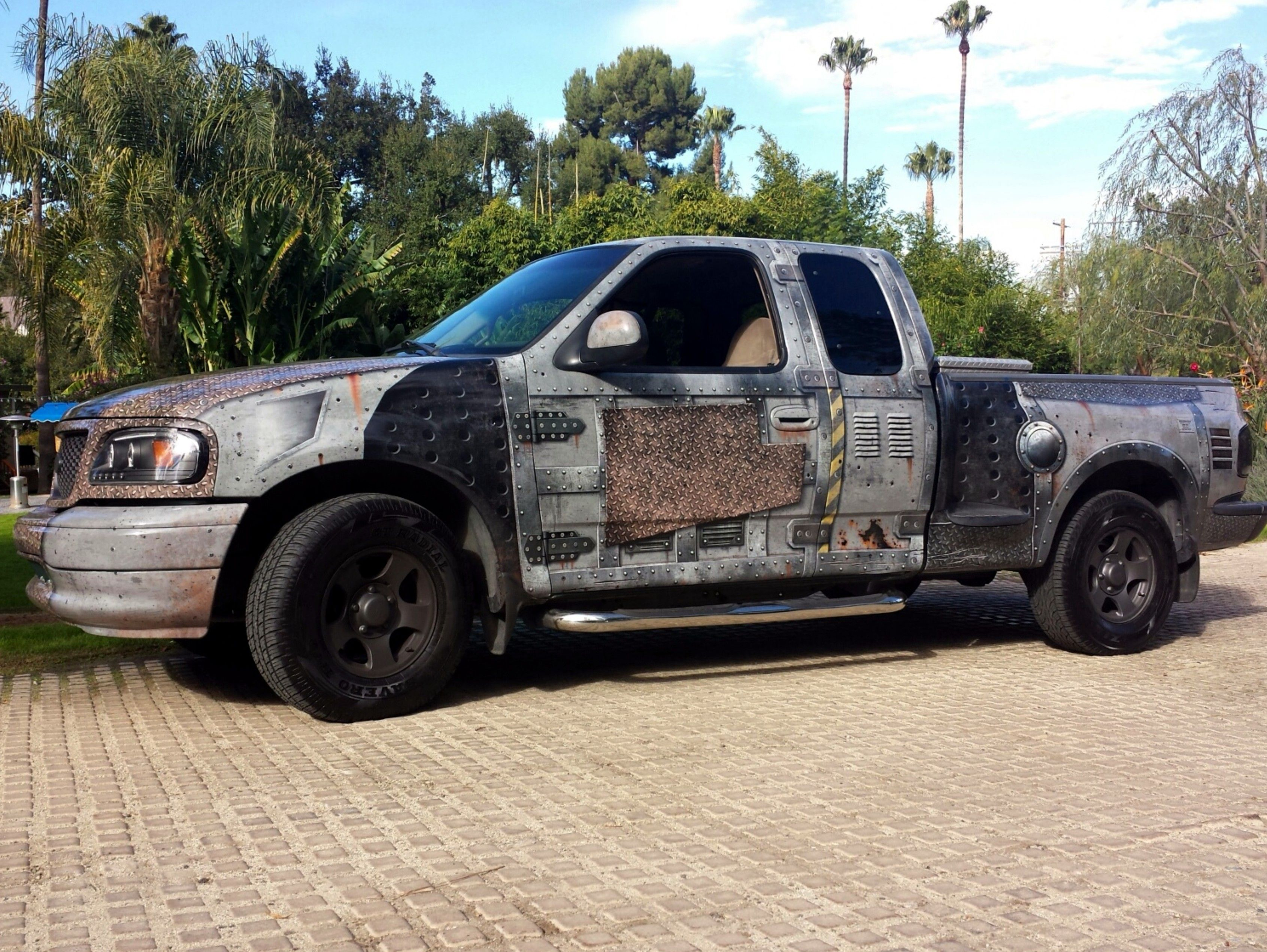 Apocalypse Wrap F150 Truck Wrap Designed And Installed By John King Los Angeles Autos