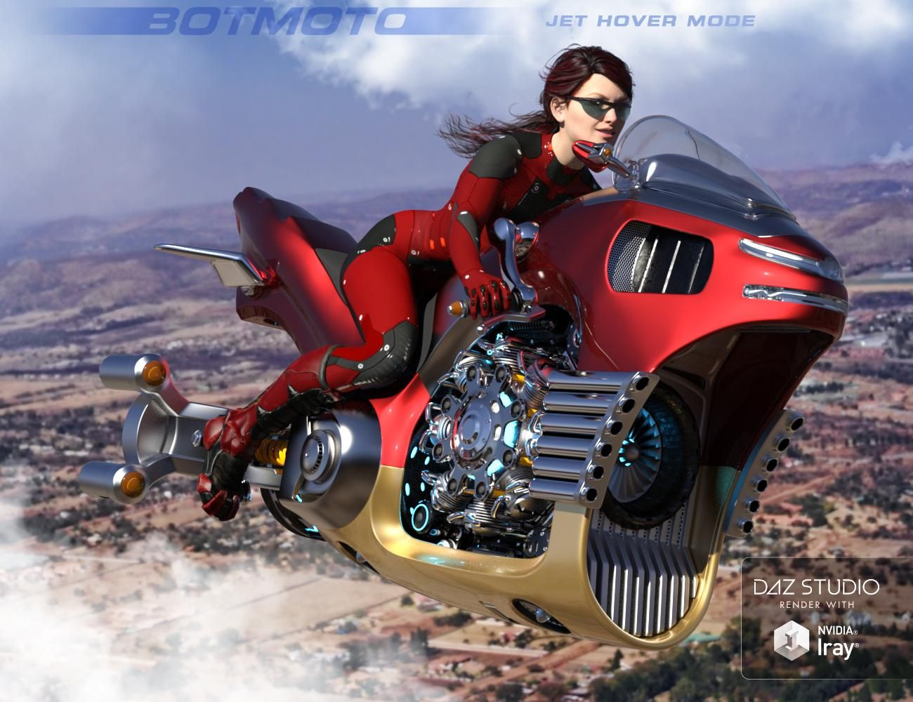 BotMoto SciFi Superbike On Sale Now! (yay, finally