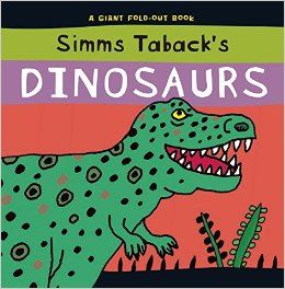 July 2015.  THEME: We Dig Dinosaurs!  Simms Taback's Dinosaurs is a favorite with the toddlers.  The large fold out pages with clues on each fold make this a winner for one on one or group sharing.  Check here to see if it's in: http://opac.smfpl.org/cgi-bin/koha/opac-detail.pl?biblionumber=229359&query_desc=kw%2Cwrdl%3A%20simms%20taback%20dinosaurs