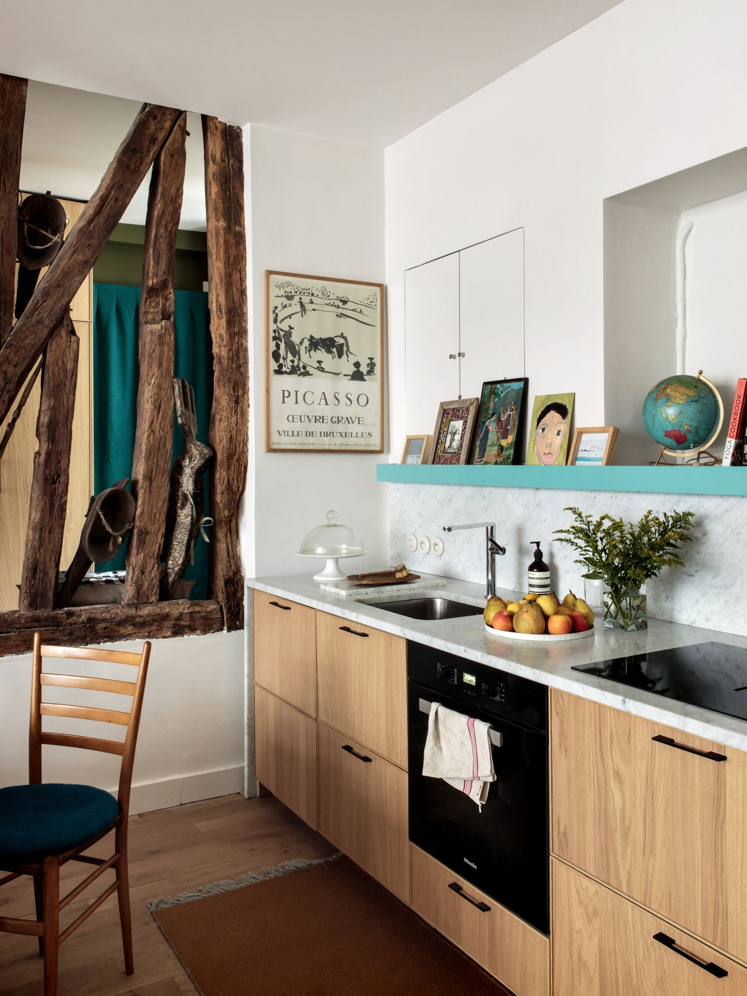 combining apartments to gain space an architect s family duplex in rh pinterest com