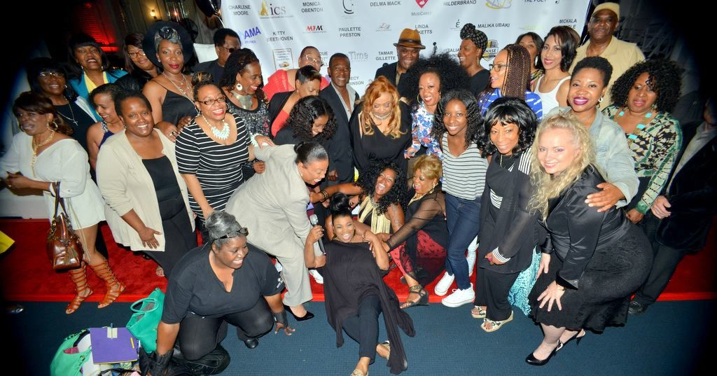 Women Who Jam! NABFEME San Francisco crew after a successful showcase at Geoffrey's in Oakland, CA!