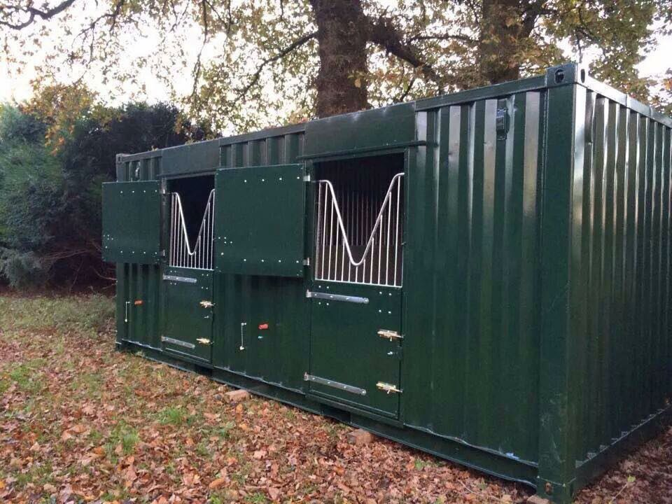 Shipping container Stalls