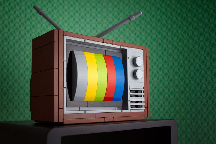 My First TV ('80s Edition) · Powerpig's Builds 'n Things · Online Store Powered by Storenvy