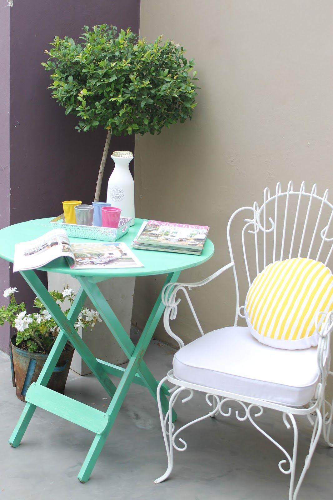 Mesita Plegable De Color Mueble De Jardin Pintar Mesas De