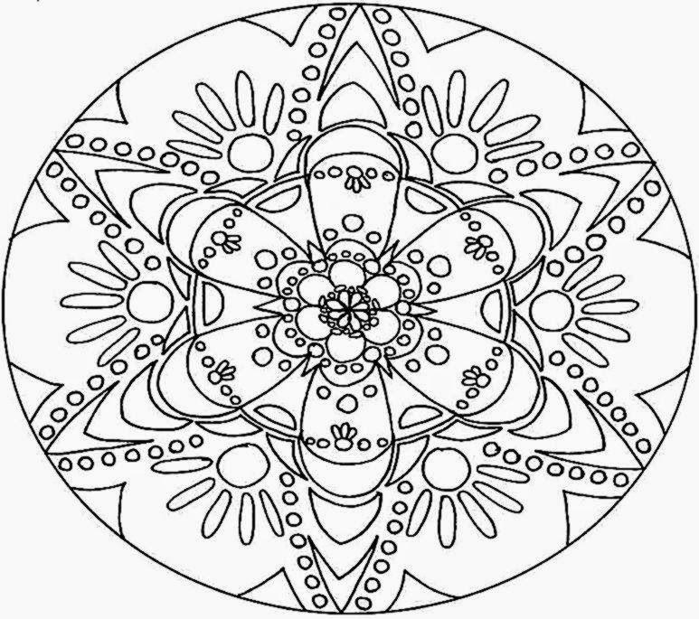 Coloring Sheets For Teens Free Coloring Sheet Mandala Warna