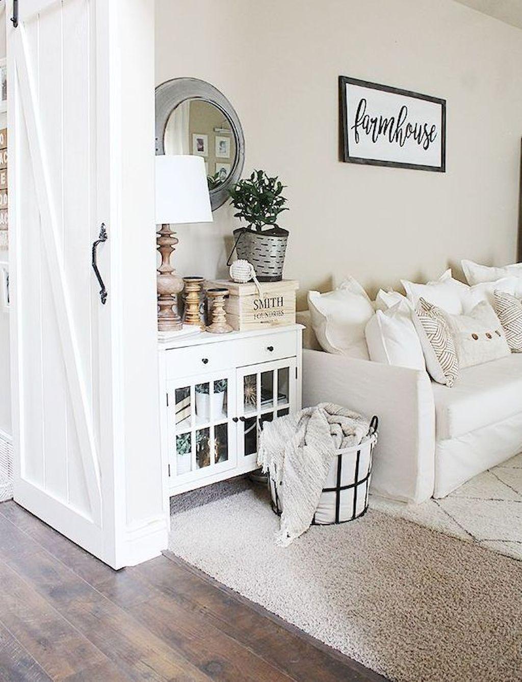93 modern farmhouse living room decor ideas