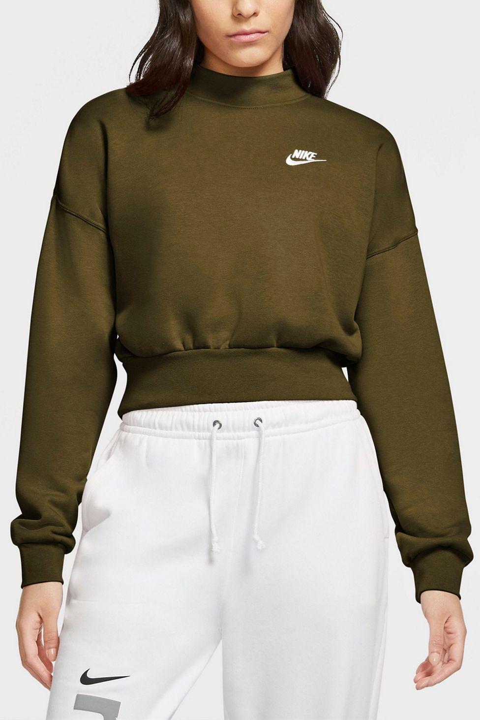 Nike Sportswear Essential Fleece Mock Neck Sweatshirt Urban Outfitters Mock Neck Sweatshirt Mockneck Sweatshirt Sweatshirts [ 1463 x 976 Pixel ]