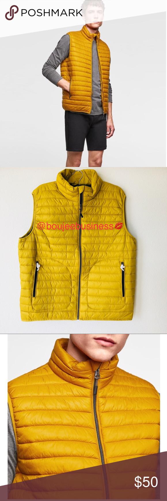ZARA MAN Padded Vest Jacket NWT | Zara man, Padded vest