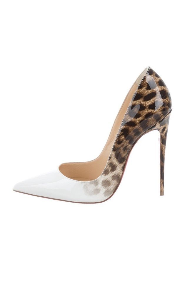 c8749723f54a Christian Louboutin 37.5 So Kate Ombré Leopard Size 7.5 brand new with dust  bag!