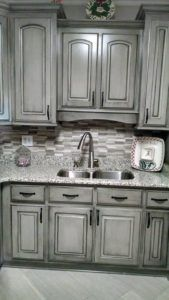 how to glaze cabinets correctly cabinets grey kitchen cabinets rh pinterest com