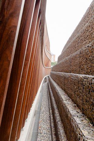 MODULO architects - CLINIQUES UNIVERSITAIRES SAINT-LUC Brussel (St-Lambrechts Woluwe) - parkeergebouw 980 plaatsen