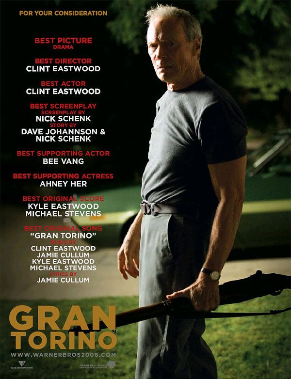 by Clint Eastwood, 2008, magnificent and deeply moving ; very great film