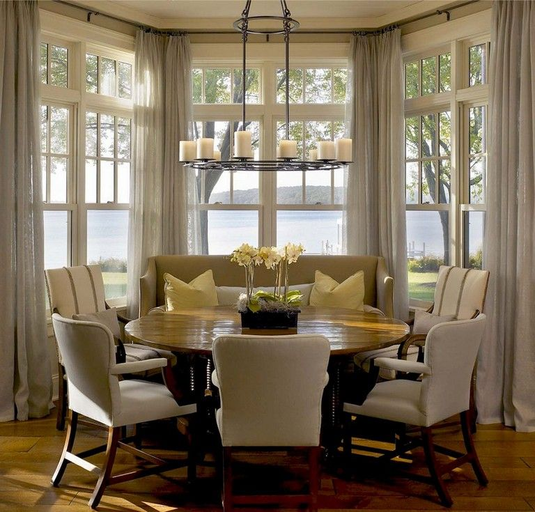 Casual Dining Rooms Decorating Ideas For A Soothing Interior: 42+ Comfy Lake House Living Room Decor Ideas