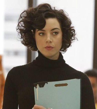 Aubrey Plaza Aubrey Plaza Legion Aubrey Plaza How To Curl Short Hair