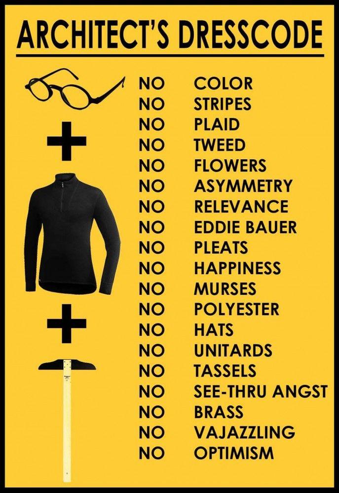 An Architect's Dress Code