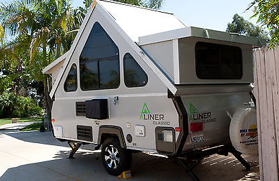 Aliner  With Dormers  2012 Aliner Classic Titanium with