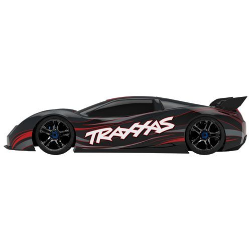 Traxxas Xo 1 4wd 1 7 Scale Rc Supercar 64077 3 Black Rc Cars Land Vehicles Best Buy Canada Traxxas Cars Land Rc Cars