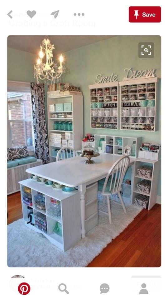 Craft room sewing room Craft room sewing