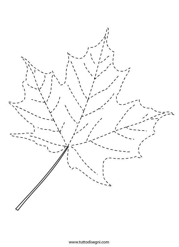 foglie autunnali pregrafia - Google Search