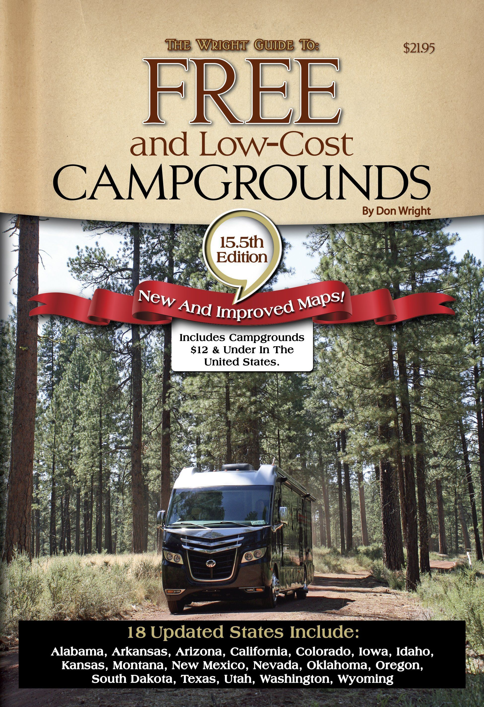 Camping guide The Wright Guide to Free