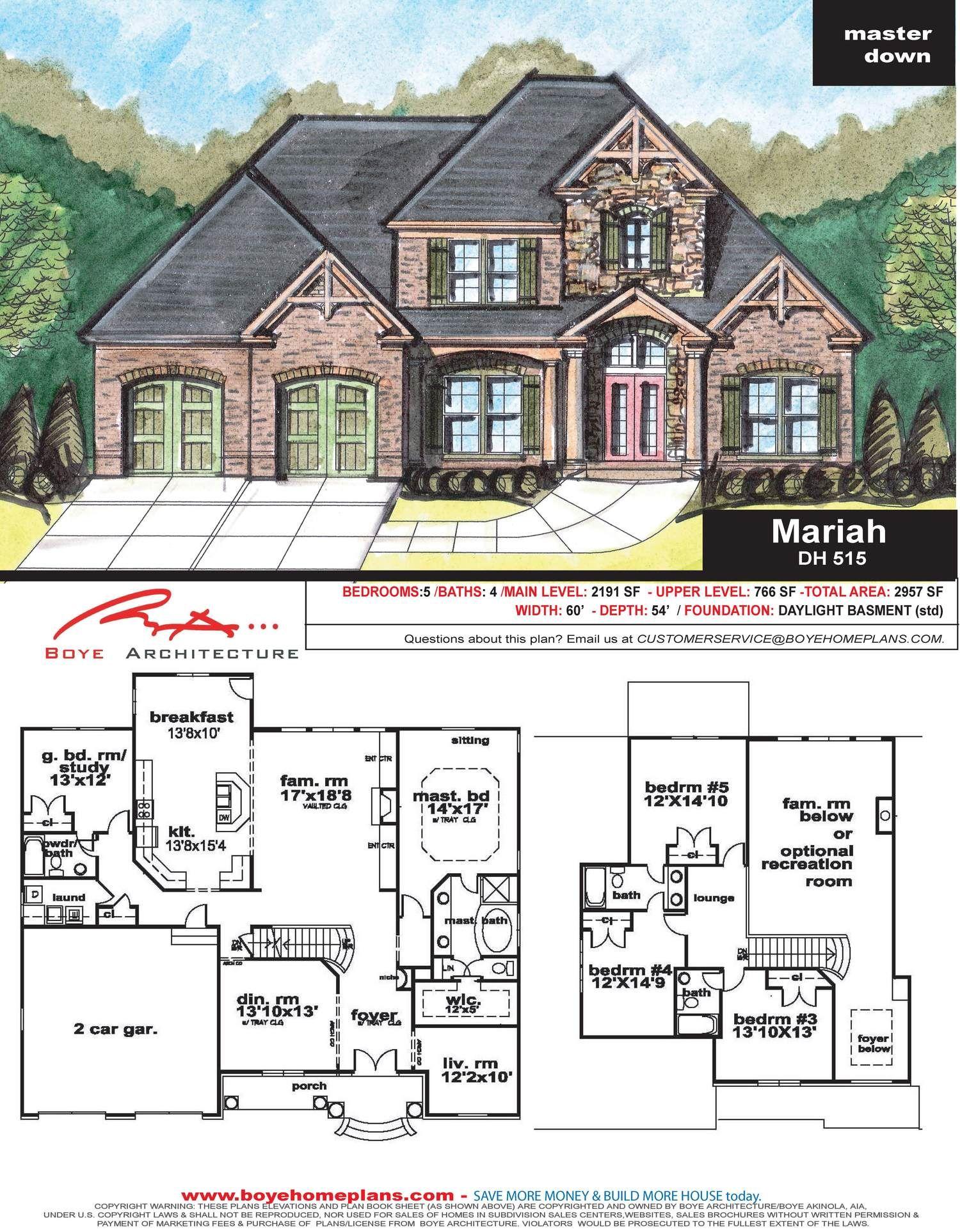 Mariah Custom Home Plans Custom Home Designs Custom Homes