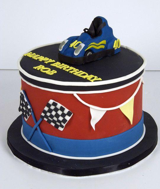 Go Kart Cake Toronto
