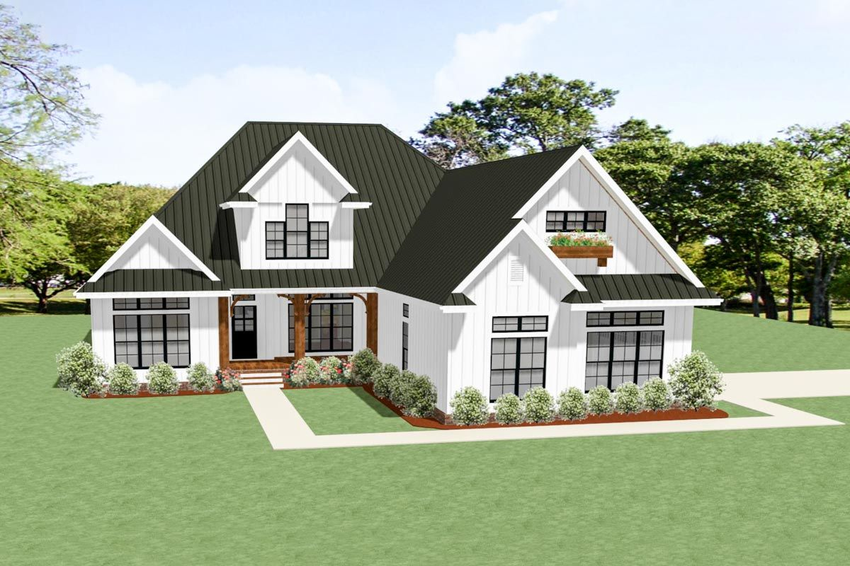 Plan 46331la 3 Bed Country Craftsman House Plan With Room To