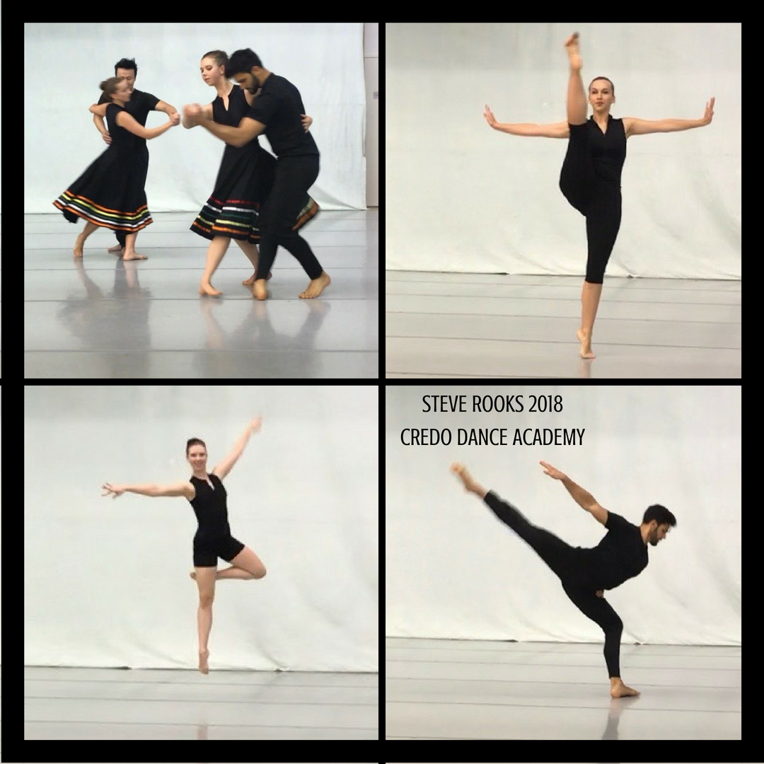 Steve Rooks Engaged Our Students In A Week Long Modern Ballet Intensive June 4 8 2018 At Credo Dance Academy The Studen Dance Instruction Dance Academy Dance