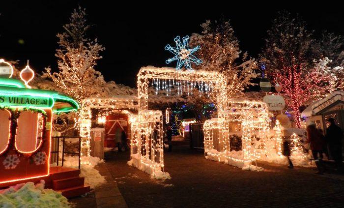 Take An Enchanting Winter Walk Through Ogden S Christmas Village In Utah Ogden Utah Utah Utah Skiing